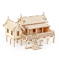 미니 세계의집 태국전통가옥(YM598)