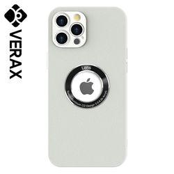 아이폰12PRO 프로 비비드 가죽 렌즈 젤리 케이스 P633