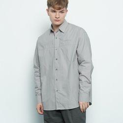 M456 over washing cut shirt grey