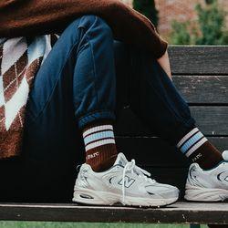(UNI) Sceaux Socks_Brown(ITEM5DXR1DH)