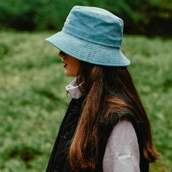 (UNI) Couleeverte Bucket Hat_Sky Blue(ITEMH8IAUE9)