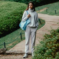 김성은,이민경착용 (WOMEN) Plantee Pants 2_Melange White(ITEMM1F86SF)