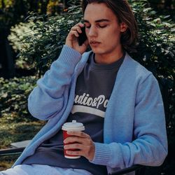 (MEN) Monceau Knit Cardigan_Sky Blue(ITEMBL5Z1IU)