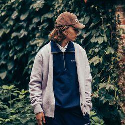(MEN) Monceau Knit Cardigan_Lilac(ITEMSLCJCRY)