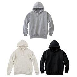 [UNISEX]  베이직 후드 셔츠 3 color (블랙, 그레이, 아이보리)(ITEMPMWSMKF)