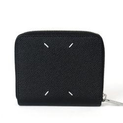 스티치 지퍼 반지갑 블랙 S55UI0197 P0399 T8013