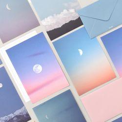 포토 편지지 - Moon 8종