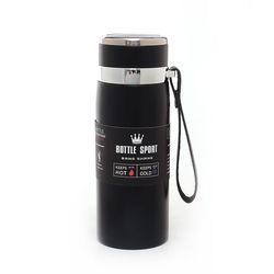 엔조이 진공단열 스텐 보온병(600ml) (블랙)