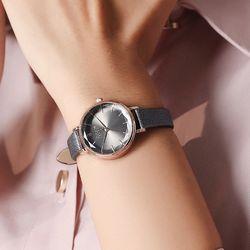 쥴리어스 여자 손목시계 가죽밴드 JA-1115