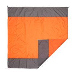디어캠핑 텐트 그라운드 시트(210x200cm) (오렌지)