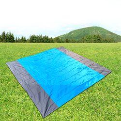 디어캠핑 텐트 그라운드 시트(210x200cm) (블루)