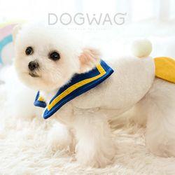 도그웨그 스쿨덕 티셔츠 조끼 강아지 겨울 옷 애견 의류