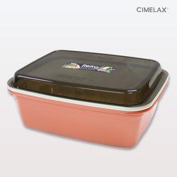 씨밀렉스 레트로 멀티보관용기 7.5L 전자렌지용기