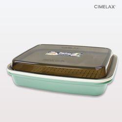 씨밀렉스 레트로 멀티보관용기 3.5L 전자렌지용기