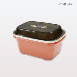 씨밀렉스 레트로 멀티보관용기 2.5L 전자렌지용기