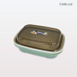 씨밀렉스 레트로 멀티보관용기 1.3L 전자렌지용기
