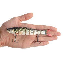 히트피싱 8단 관절 루어(물고기A)