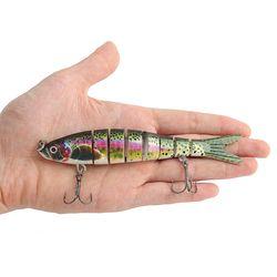 히트피싱 8단 관절 루어(물고기C)