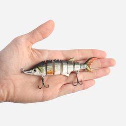 히트피싱 7단 관절 루어(물고기A)