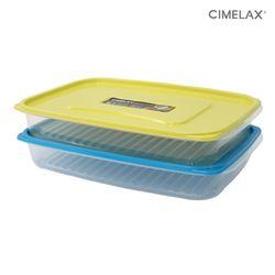 씨밀렉스 냉동실용기 킵프리저 (2.7LX2개) 보관용기