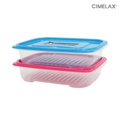 씨밀렉스 냉동실용기 킵프리저 (1.3LX2개) 보관용기
