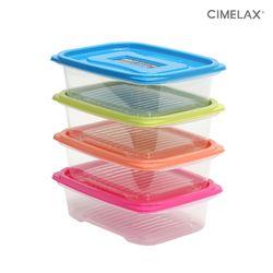씨밀렉스 냉동실용기 킵프리저 (780mlX4개) 보관용기