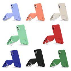 아이폰12 11 PRO MAX XS 8 7 단색 컬러 브래킷 케이스