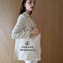 로고 베이지 에코백_Logo Beige Eco bag