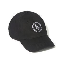 SHC 써클 로고 커브캡-블랙