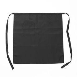 심플 롱 허리 앞치마(블랙)