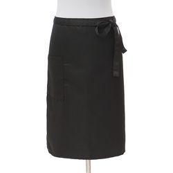 심플 포켓 허리 앞치마(블랙)