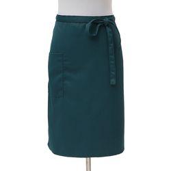 심플 포켓 허리 앞치마(블루그린)