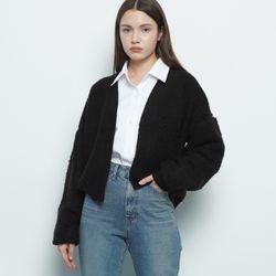 W17 soul fit cardigan black