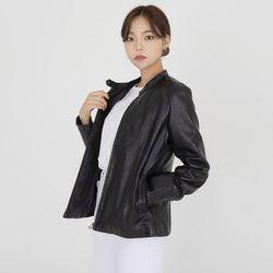 양가죽 싱글라이더 자켓(블랙)(ITEMLEMAFPJ)