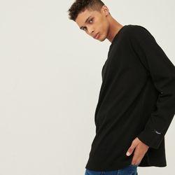 롱슬리브 오버핏 긴팔 티셔츠[블랙](NEW5B3BI4B)