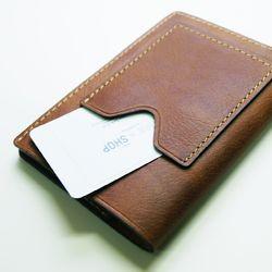 천연 가죽 여권 커버 (카드포켓 vertical - 카우)