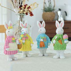 니트 입은 선 토끼 4color
