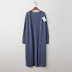 Whole Cashmere Wool Open Shawl Long Cardigan
