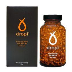 Dropi Cod Liver Oil 대구간유오메가3 Omega3 180캡슐