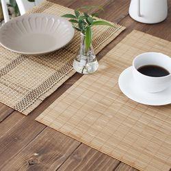 대나무 테이블매트 개인매트 (2type)
