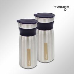 트윙고 리비 스텐레스304 냉장고물병 (1.2LX개)(블루)