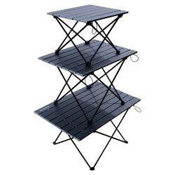 슈와츠 초경량 백패킹 롤 블랙 테이블 중형