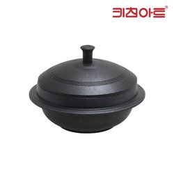키친아트 슈퍼블 코팅 통주물 가마솥 18cm 가마솥냄비