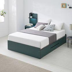 [수도권무배] 워너비 높은서랍 침대 Q 포켓매트리스