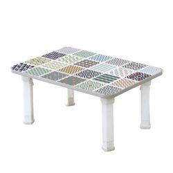 가벼운 접이식식탁 에어테이블 중 (타일) 610x430