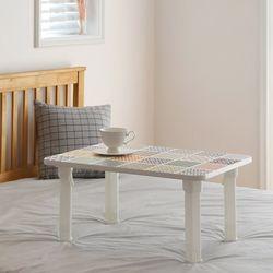 가벼운 접이식식탁 에어테이블 대 (타일) 700x480