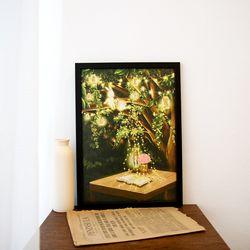 A3 종이 포스터 - 빛나는 밤