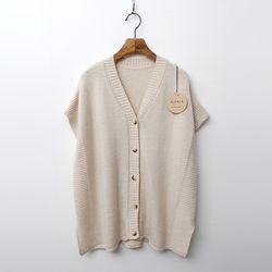 Alpaca Wool Poncho Vest