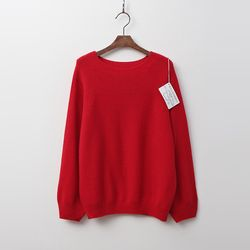 Whole Cashmere Wool Volume Sweater