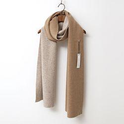 Merino Wool Twins Muffler - 양면